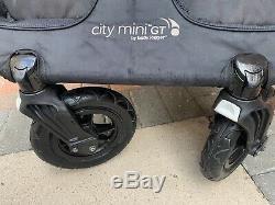 2014 baby jogger city mini gt double Black Twin Pram