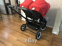 2017 Bugaboo Donkey Twin Double Stroller