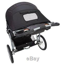 Baby Boy Double Jogger Stroller 2 Car Seats with Bases 2 Chairs Twins Playard