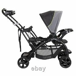 Baby Boy Double Stroller Infant Toddler Twin Sit N Stand Set
