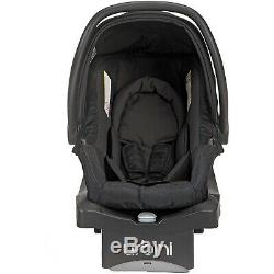 Baby Double Jogger Stroller Newborn Twins Nursery Center 2 Car Seats with Bases