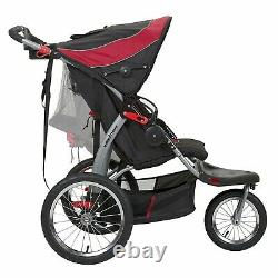Baby Double Jogging Stroller Twin Infant Toddler New Boxed Red