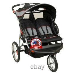 Baby Double Stroller For Twins Cosas De Bebe Cochecito Doble Carriola Gemelos