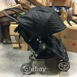 Baby Jogger 2016 City Mini Twin Double Seat Folding Baby Stroller in Black