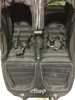 Baby Jogger 2018 City Mini GT Double Twin Seat Baby Stroller All-Terrain Black