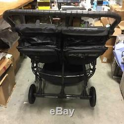 Baby Jogger 2018 City Mini GT Double Twin Seat Baby Stroller, All-Terrain, Black