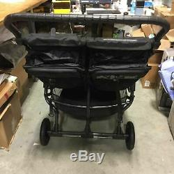 Baby Jogger 2019 City Mini GT Double Twin Seat Baby Stroller, All-Terrain, Black