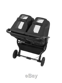 Baby Jogger 2020 City Mini GT 2 Double Stroller Jet New! Black Twin