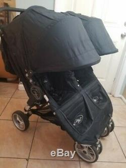 Baby Jogger City Mini Double Standard Double Twin Seat Stroller, Black
