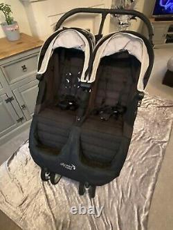 Baby Jogger City Mini Double Twin Pushchair Black