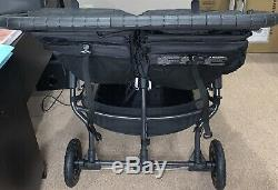 Baby Jogger City Mini GT2 Twin Baby Double Stroller Jet FREE SHIPPING WITHIN USA