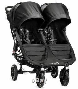 Baby Jogger City Mini GT Double Twin All Terrain Stroller Black New 2019