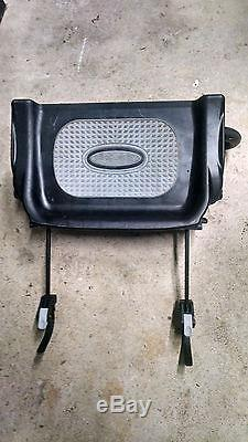 Baby Jogger City Mini GT Double Twin All Terrain Stroller Black with Glider Board