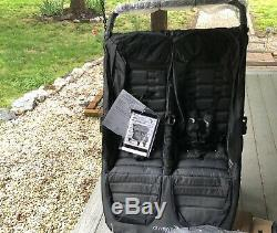 Baby Jogger City Mini GT Double Twin All Terrain Stroller Charcoal NEW