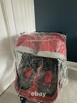 Baby Jogger City Mini GT Twin / Double Crimson / Red Stroller / Puschair