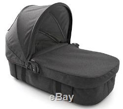 Baby Jogger City Select Lux Twin Double Stroller Granite with Second Seat Bassinet