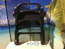 Baby Jogger City Select Lux Twin Double Stroller w Second Seat Slate New