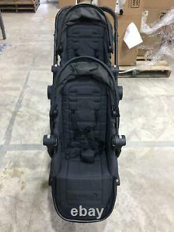 Baby Jogger City Select Lux Twin Double Tandem Second Seat Baby Stroller Granite