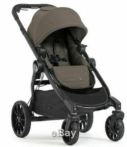 Baby Jogger City Select Lux Twin Tandem Double Stroller with Second Seat Taupe NEW