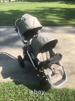 Baby Jogger City Select Quartz Double Twin Stroller With Second Seat-Used 5 Times