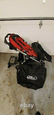Baby Jogger City Select Twin Double Stroller riding stand travel case 2nd seat