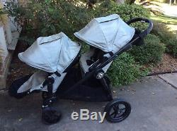 Baby Jogger City Select Twin Double Stroller with Second Seat