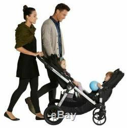 Baby Jogger City Select Twin Tandem Double Stroller Red with Second Seat NEW