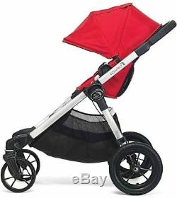 Baby Jogger City Select Twin Tandem Double Stroller with Second Seat Slate 2019