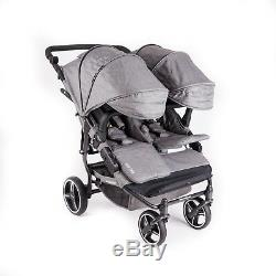 Baby Monsters Easy Twin 3.0 Double Stroller Texas, Inc Rain Cover
