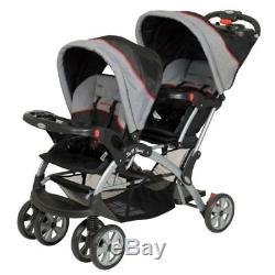 Baby Strollers For Two Sit And Stand Double Twins Girls Boys Car Seat Carrier