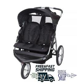 Baby Trend Expedition EX Double Jogger Running Stroller Toddler Running Twins