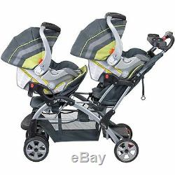 Baby Trend Sit N Stand Double Stroller Carbon, Twin Baby carriage