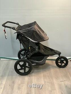 Bob Revolution Flex Duallie Twin Baby Double Stroller Graphite Black