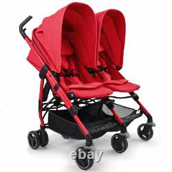 Brand New Maxi Cosi Dana Twin/Double Pushchair Stroller in Origami Red RRP£375