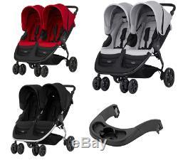 Britax B-AGILE DOUBLE stroller buggy puschair Kinderwagen wózek for two or twins