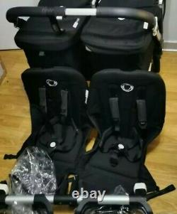 Bugaboo Donkey 2 Complete Twin Sets With Maxi Cosi Pebble Plus, Great Condition