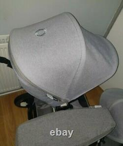 Bugaboo Donkey 2 In Melange With Twin Seats, Carrycot, Footmuffs
