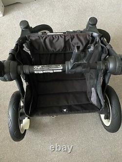 Bugaboo Donkey Black 2014 Double Duo Twin Carrycot Etc New Donkey2 2x Seats