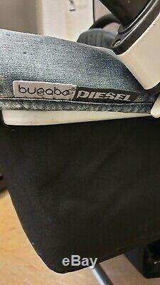 Bugaboo Donkey Diesel Denim Full Twin Sets With Foormuffs, Etc