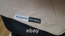 Bugaboo Donkey Twin Double Pushchair Pram Unisex Black / Sand Mono / Duo