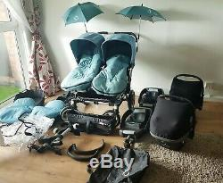 Bugaboo Donkey duo Twins/Double/Single Travel System Full Package