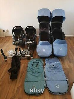 Bugaboo donkey Double/twin Travel System