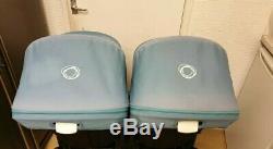 Bugaboo donkey twin with maxi Cosi car seats etc