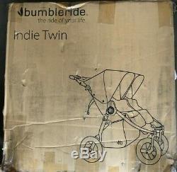 Bumbleride Indie Twin 2018 Matte Black=