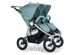 Bumbleride Indie Twin All Terrain Twin Baby Double Stroller Sea Glass 2020 NEW