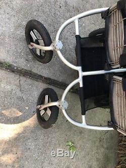 Bumbleride Indie Twin Black Adjustable Handle Double Stroller