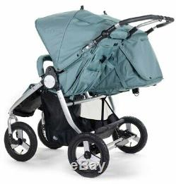 Bumbleride Indie Twin Compact Fold Baby Double Stroller Sea Glass New