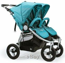 Bumbleride Indie Twin Double All Terrain Stroller Tourmaline Wave Brand New 2018