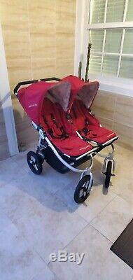 Bumbleride Indie Twin Ruby Double Stroller
