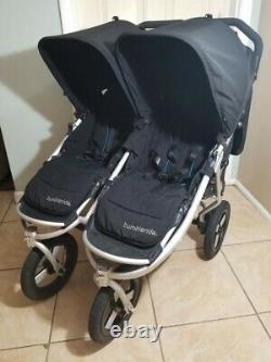 Bumbleride Indie Twin Standard Double Stroller, Black